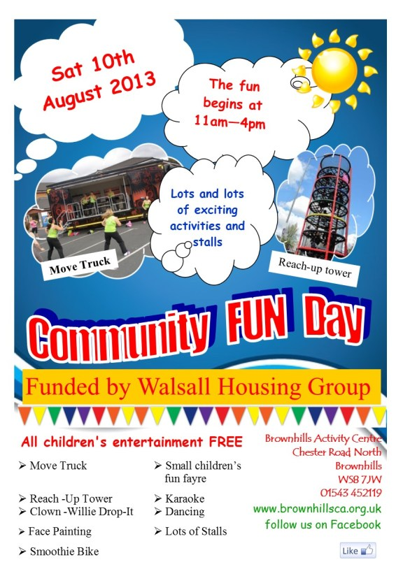 August 2013 - Fun Day