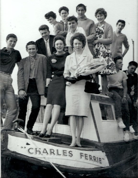 Charlie Ferrie canalboat