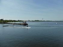 The Wakelake wake boarding facility at Chasewater seems popular