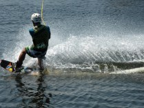 Wakeboarding looks tremendous fun