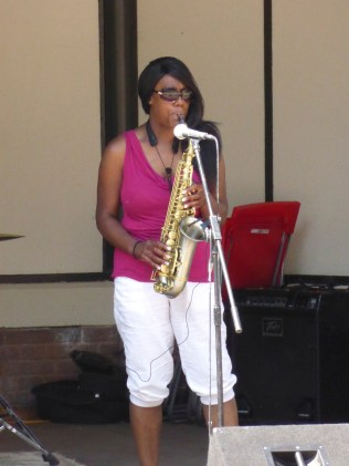 Brownhills has a great saxophonist. Who knew? Samantha, please get in touch...