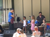 Loved how the children just took to the music
