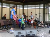 Rocking out with the kids
