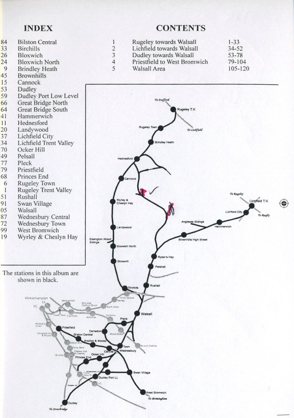 Walsall Routes - MP  200713001