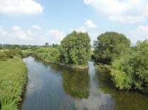 High Bridge, Handsacre, looking east up the Trent