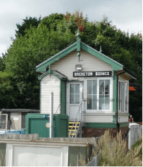 Brereton Sidings signal box. Image by Ian Pell.
