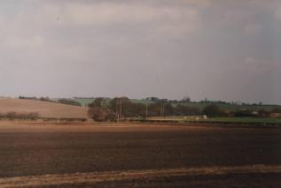 Ogley Hay Road and Green Lane 1993, taken from railway embankment