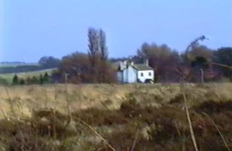 Photograph take from the old road next to the trotting stadium from the old video