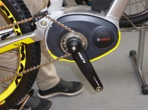 The Bosch electric drive was present on a lot of electric bikes and seems the best engineered