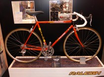 Raleigh do irony. This bike is £2,000. The original bike like this - a 70s/80s classic - was the bike you'd buy from Kays catalog for £2 a week