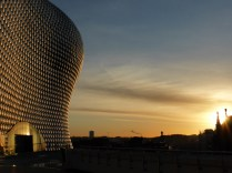 I adore the Selfridges building. The aluminium discs were made in Walsall, too.