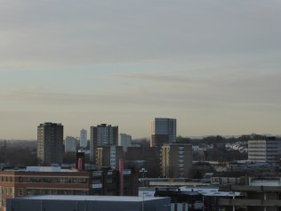 Across the rooftops to Lee Bank.