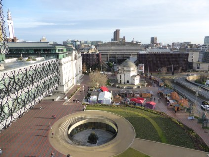 Not often you get such a good view of Brum