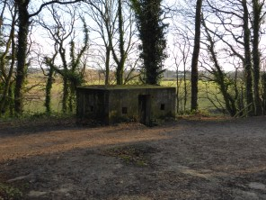 Hopwas Woods Bridge pillbox.