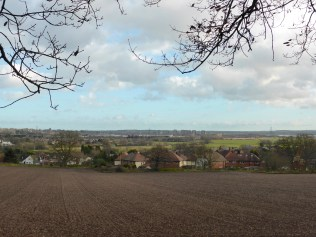 Hopwas overlooking the terrible sprawl of Tamworth.