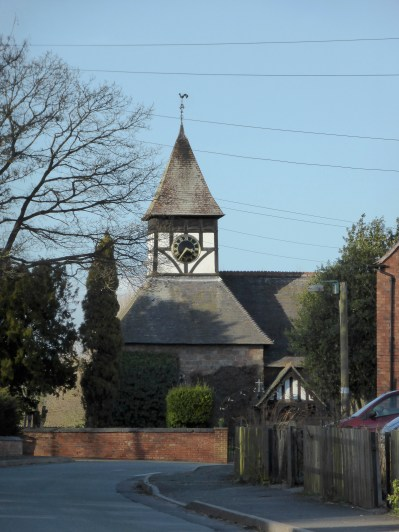 Harlaston Church. Timeless. Well, sort of.