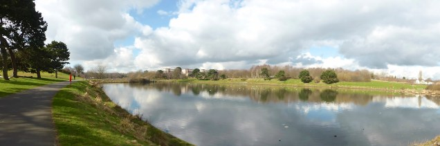 Panoramic Witton Lakes