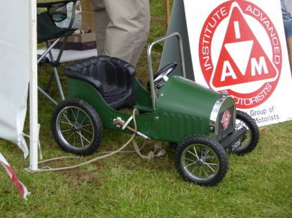 Ace pedalcar on the IAM stall