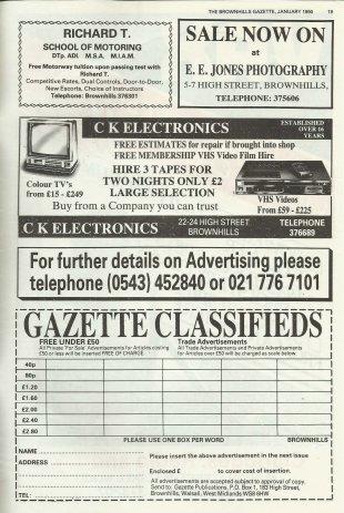 Brownhills Gazette January 1990 issue 4_000018