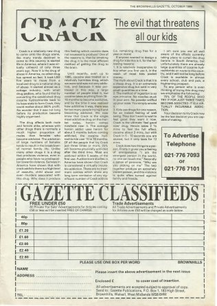 Brownhills Gazette October 1989 issue 1_000015