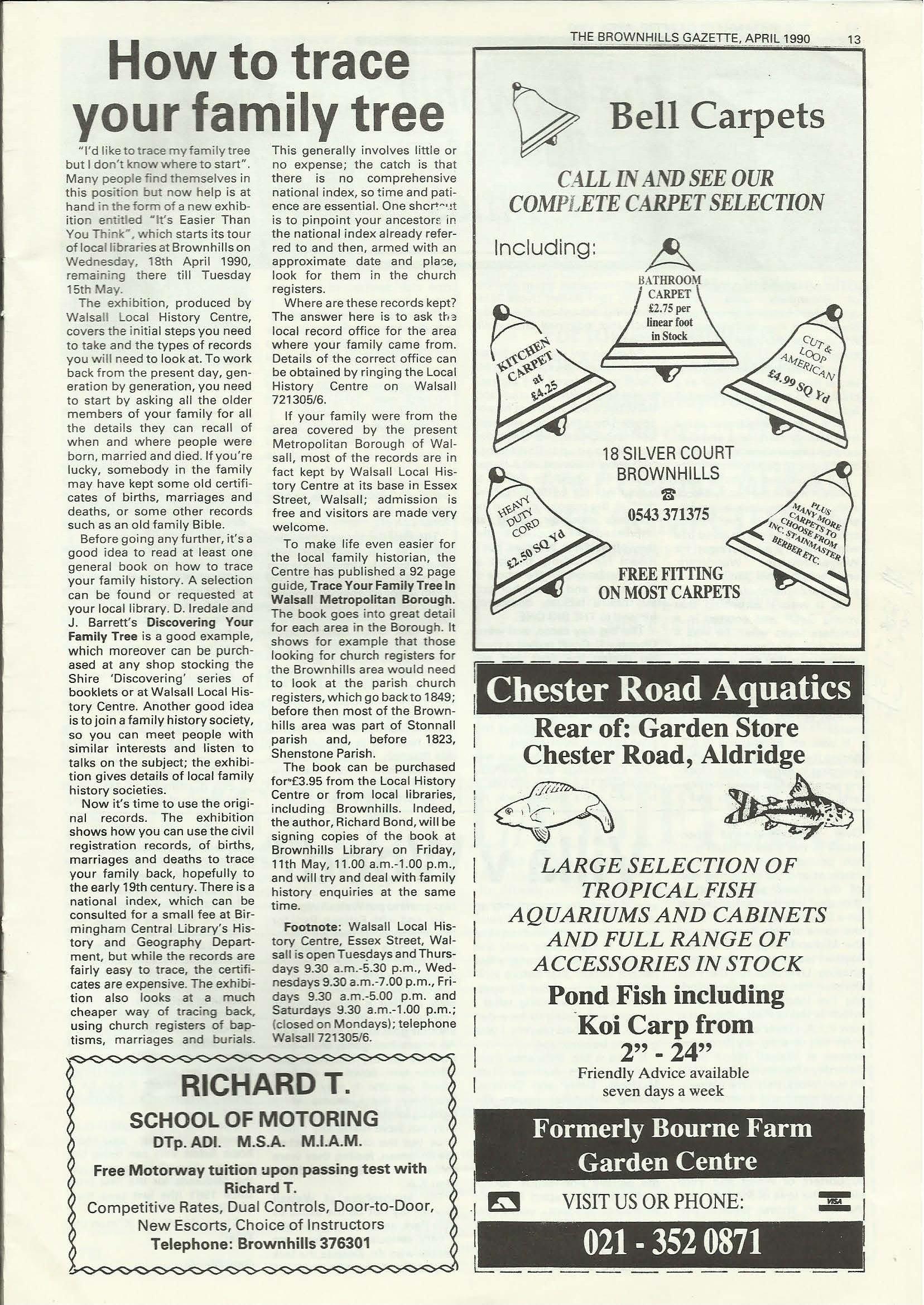 Brownhills Gazette April 1990 issue 7_000013