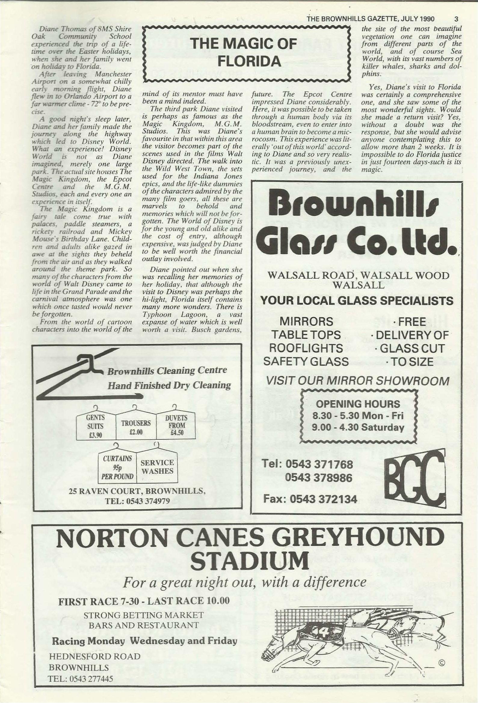 Brownhills Gazette July 1990 issue 10_000003