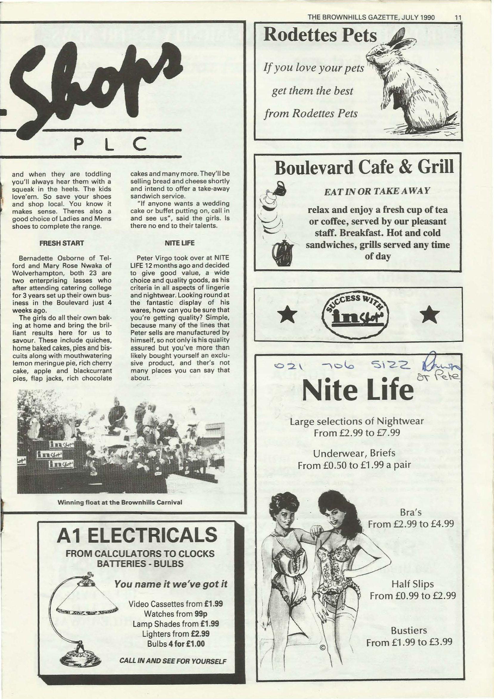 Brownhills Gazette July 1990 issue 10_000011