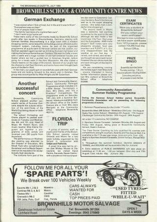 Brownhills Gazette July 1990 issue 10_000012