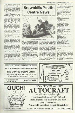 Brownhills Gazette March 1990 issue 6_000013
