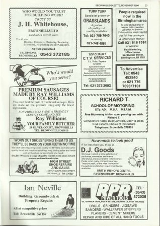 Brownhills Gazette November 1990 issue 14_000027