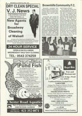 Brownhills Gazette April 1991 issue 19_000014