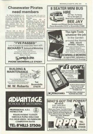 Brownhills Gazette April 1991 issue 19_000015
