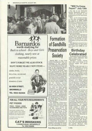 Brownhills Gazette August 1991 issue 23_000012