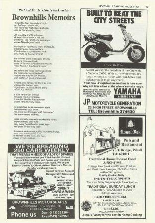 Brownhills Gazette August 1991 issue 23_000013