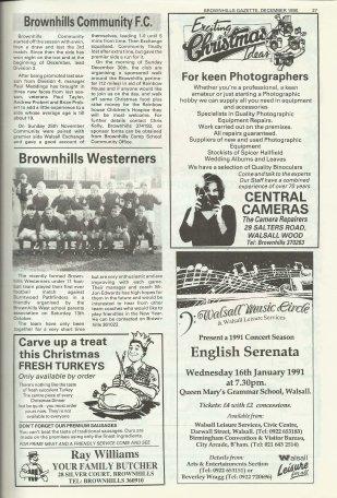 Brownhills Gazette December 1990 Issue 15_000026