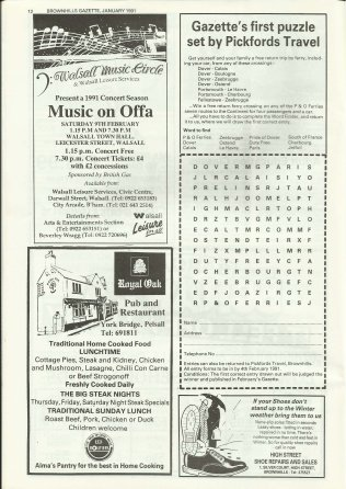 Brownhills Gazette January 1991 issue 16_000012