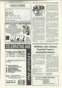 Brownhills Gazette June 1991 issue 21_000018