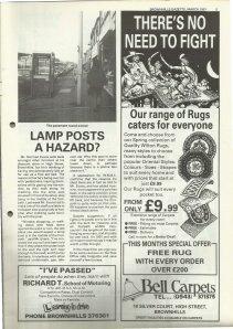 Brownhills Gazette March 1991 issue 18_000005
