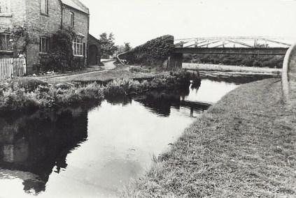 Huddlesford Junction, August 1954.