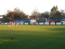 The defending keeper was tested, and showed excellent reaction at times. Image courtesy of David vans.