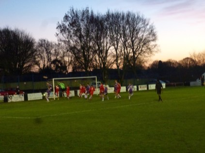 The third and final goal settled it conclusively. Image courtesy of David Evans.