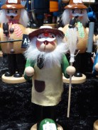Traditional German wooden toys always look a bit sinister to me, but I did like this chap. - this is how I imagine the Young David Evans.