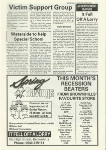 Brownhills Gazette April 1992 issue 31_000005