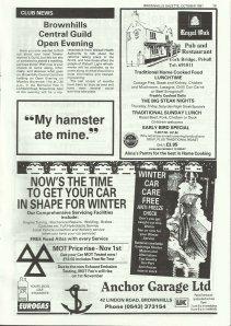 Brownhills Gazette October 1991 issue 25_000019
