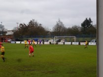 An early foray in to the Stourport half was a foretaste of the competitive spirit of the early part of the match
