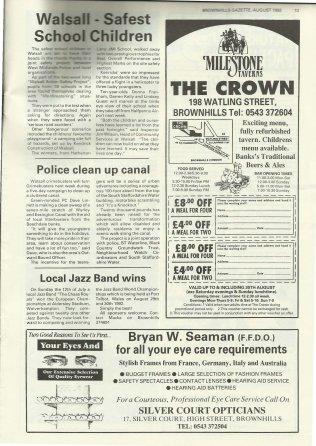 Brownhills Gazette August 1992 issue 35_000013
