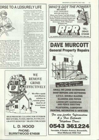 Brownhills Gazette May 1992 issue 32_000013