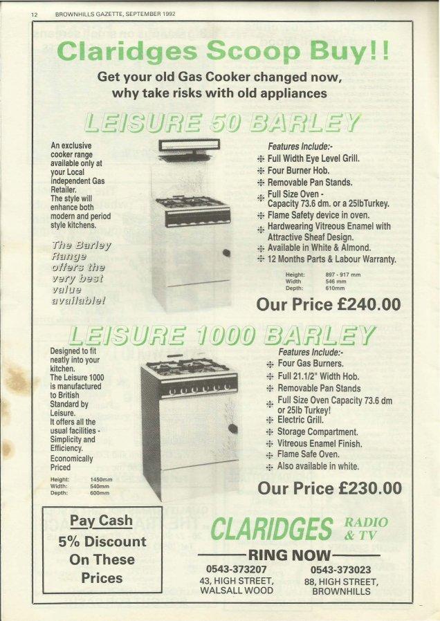 Brownhills Gazette September 1992 issue 36_000012