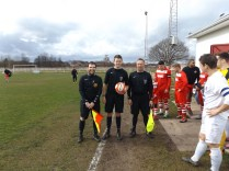 Today's officials, Paul Stonier, Mark Winston and Chris Archer