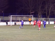 Walsall Wood on the offensive early in the match